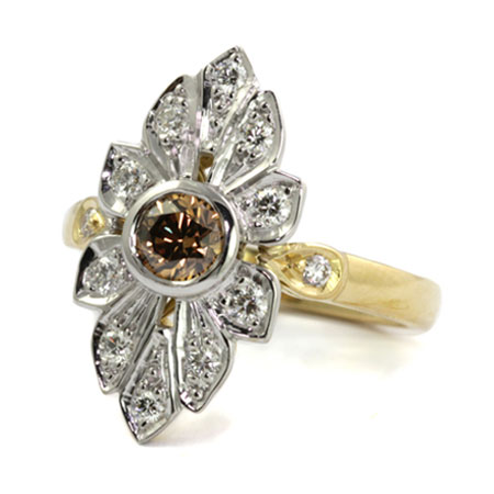Art-deco-style-argyle-diamond-engagement-ring-bentley-de-lisle