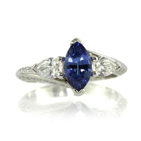 Marquise-ceylon-sapphire-engagement-ring-bentley-de-lisle