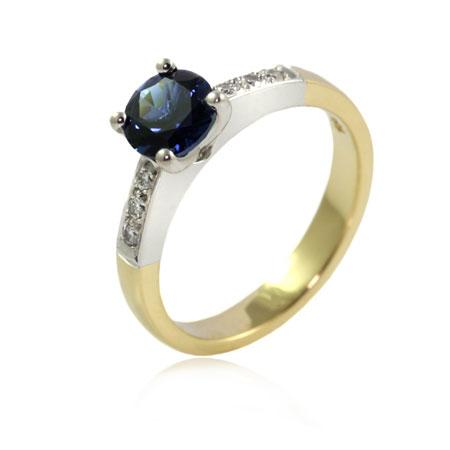 Australian-sapphire-diamond-two-tone-engagement-ring-bentley-de-lisle