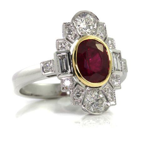 Custom-made-ruby-diamond-art-deco-ring-bentley-de-lisle