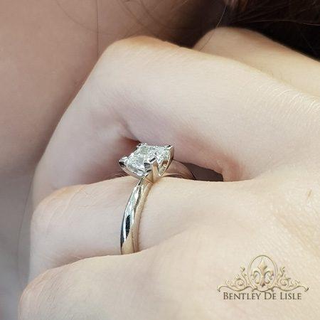Princess-cut-diamond-engagement-ring-platinum-side-bentley-de-lisle-jewellers