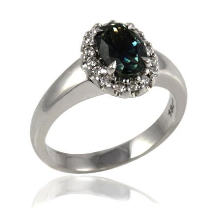 Sapphire-diamond-cluster-ring-custom-made-bentley-de-lisle