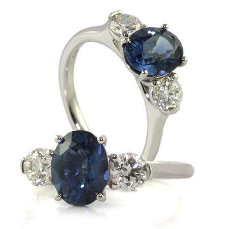 Australian-oval-blue-sapphire-diamond-engagement-ring-bentley-de-lisle