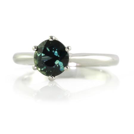 Australian-parti-sapphire-solitaire-platinum-engagemnet-ring-bentley-de-lisle