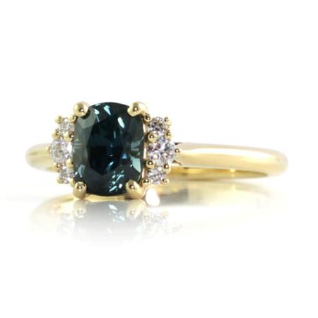 Australian-sapphire-rectangle-cushion-diamond-engagemnet-ring-bentley-de-lisle
