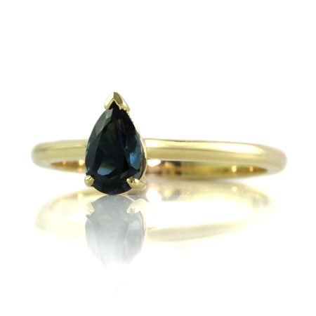 Teal-sapphire-pear-engagement-ring-bentley-de-lisle