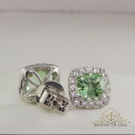 Mint-tourmaline-diamond-earrings-bentley-de-lisle-back