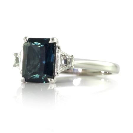 Radiant-cut-australian-sapphire-diamond-engagement-ring-bentley-de-lisle