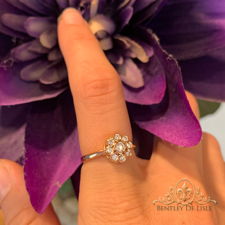 vintage-style-diamond-cluster-ring-flower-bentley-de-lisle