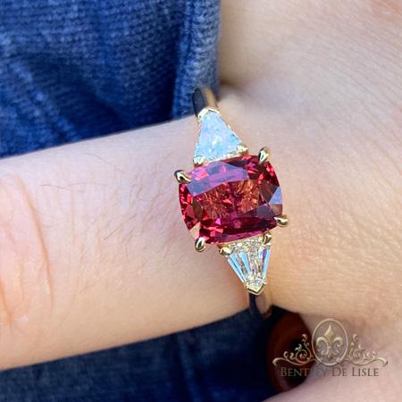 Red-spinel-diamond-ring-brisbane-bentley-de-lisle