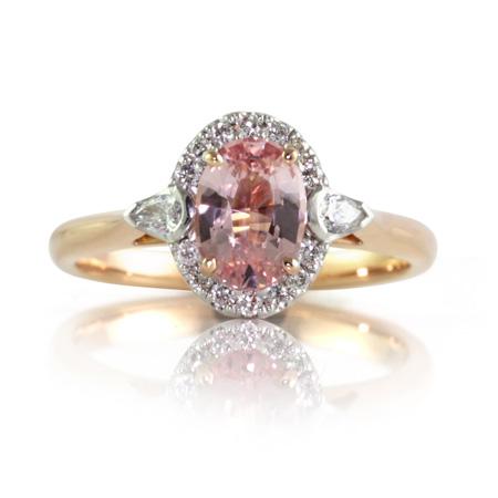 Pink-Padparadscha-Sapphire-ring-Paddington-bentley-de-lisle