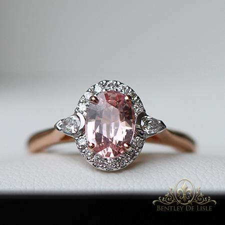 Pink-padparadscha-sapphire-ring-brisbane-jeweller-bentley-de-lisle