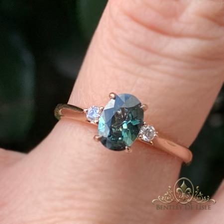 teal-australian-sapphire-three-stone-ring-bentley-de-lisle-brisbane-jeweller