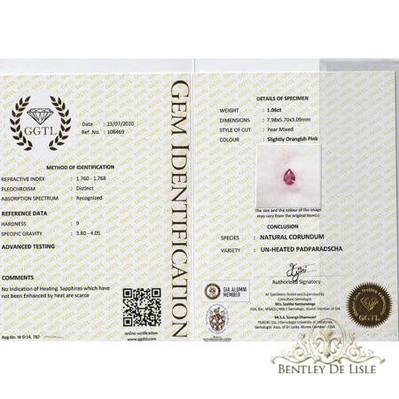 1-06ct-hot-pink-padparadscha-pear-sapphire-bentley-de-lisle-cert