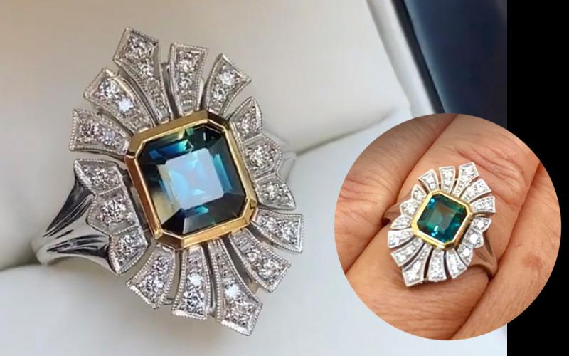Review-parti-sapphire-engagement-ring-Eve-bentley-de-lisle