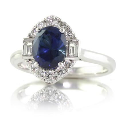 Blue-sapphire-vintage-style-ring-bentley-de-lisle