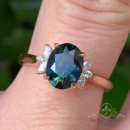 Teal-Sapphire-Marquise-Diamond-ring-bentley-de-lisle