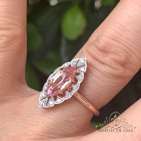 Padparadscha-sapphire-art-deco-ring-Paddington-bentley-de-lisle