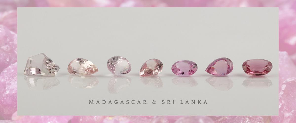 Pink-sapphires-bentley-de-lisle-jewellers-Brisbane
