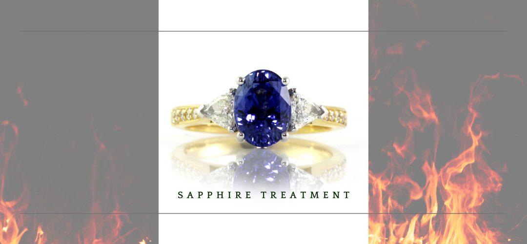 Sapphire treatment