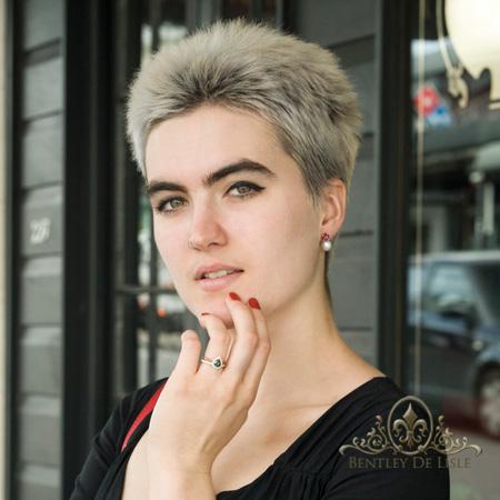 Rhodolite-garnet-pearl-earrings-bentley-de-lisle