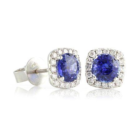 Royal-blue-sapphire-diamond-earrings-bentley-de-lisle
